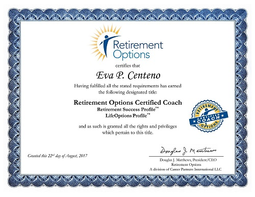 Retirement Options Certificate