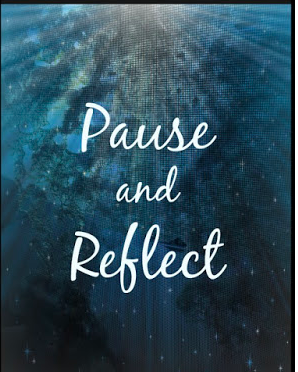 Pause and Reflect for the New Year